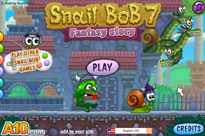Click to play Snail Bob 7